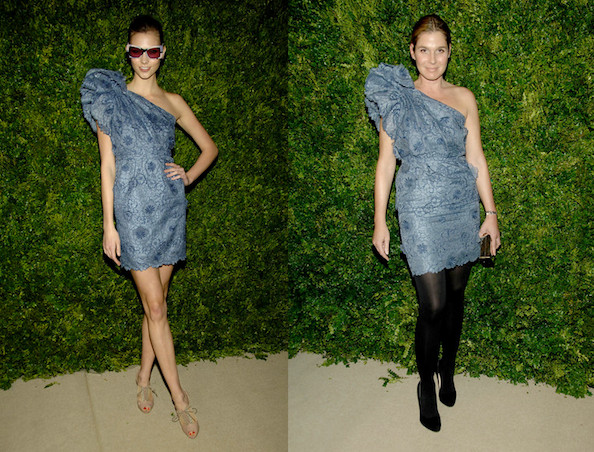 Who Wore Stella McCartney Better: Karlie Kloss or Aerin Lauder?