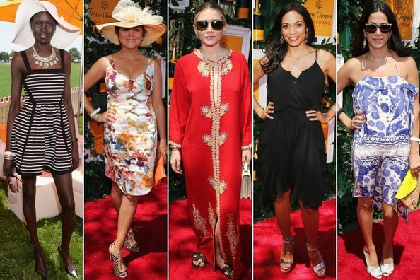 Best Dressed at the Veuve Clicquot Polo Classic 2013
