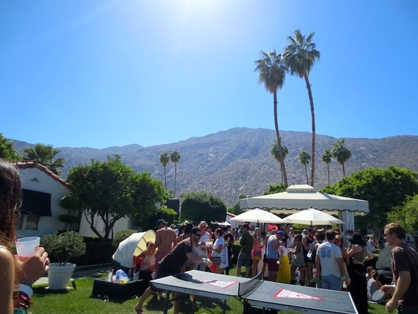 Coachella Day 3: Pool Parties, Sand Storms, Models, and More!