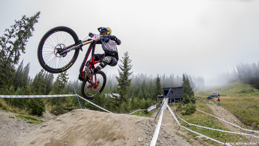 What It's Like to Be a Professional Mountain Biker