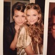 Jaime King and Piper Throw it Back