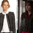Christa B. Allen's Open Front Tweed Jacket on 'Revenge'