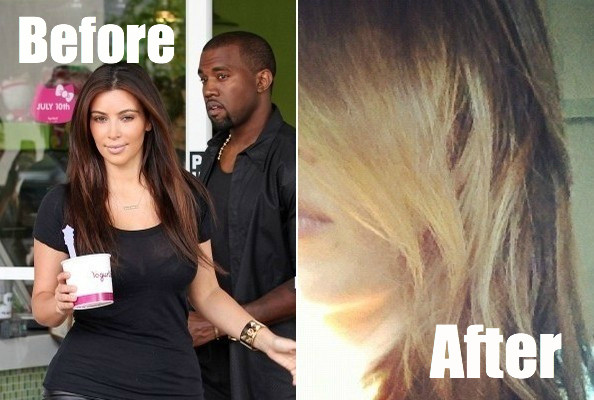 BREAKING: Kim Kardashian Goes Blonde