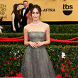 Emmy Rossum in Armani