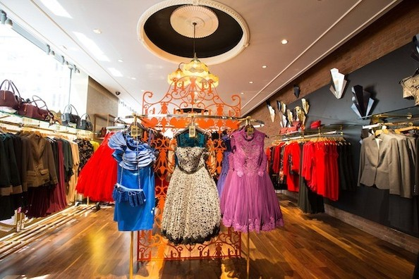Ted Baker's New York Flagship
