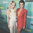 Emma Roberts and Lea Michele Go Glam for the Night