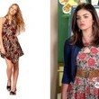 Lucy Hale's Floral Dress on 'Pretty Little Liars'