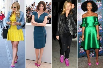 Trend to Try: Hot Pink Shoes