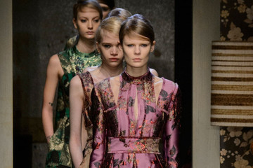 Erdem's Fall Florals at London Fashion Week