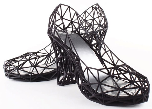 Would You Wear These 3D-Printed Shoes?
