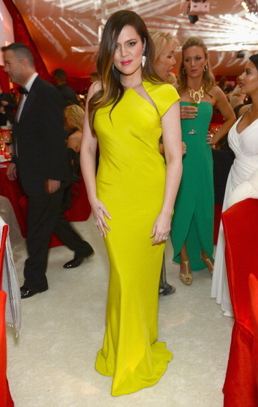Khloe Kardashian at at Elton John's 2013 Oscars Party