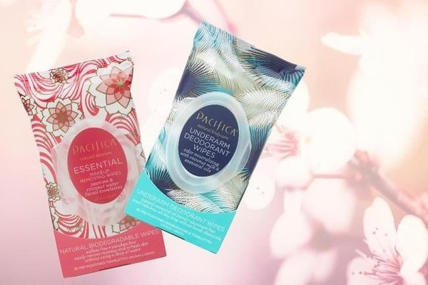 Pacifica Essential Makeup Removing Wipes, $7, and Underarm Deodorant Wipes, $9, at Ulta
