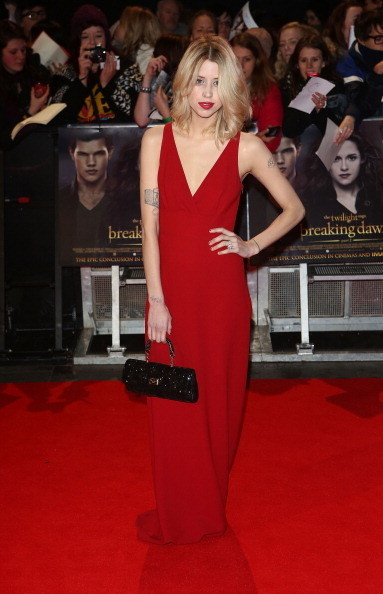 Peaches Geldof at the 'Twilight Saga: Breaking Dawn - Part 2' London Premiere