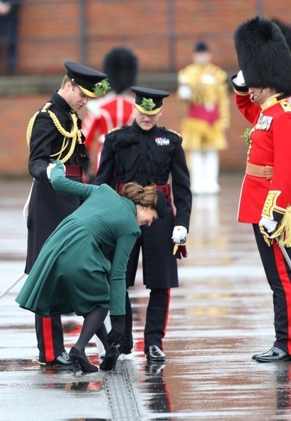 Kate Middleton Re-Wore Her Saint Patrick's Day Coat, ALMOST Took a Royal Tumble