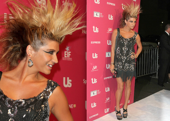 Ke$ha's Hair Reaches Astounding New Heights at 'Us' Hot Hollywood Party