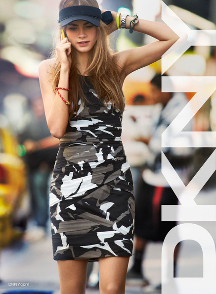 Cara Delevingne for DKNY, Spring 2013 - Sneak Peek Here