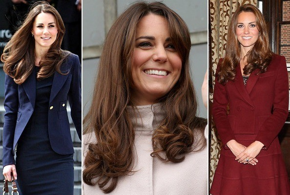 Kate Middleton's Classic Curls & Natural Makeup