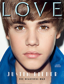 Justin Bieber's 'Love' Magazine Androgyny Issue Cover Not That Androgynous