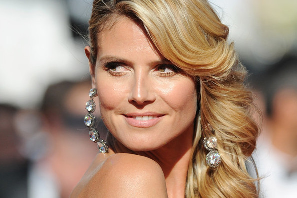 Heidi Klum Hair Styles: You Voted: The Top 15 Side-Swept Celebrity Hairstyles