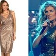 Connie Britton's Bronze Dress on 'Nashville'