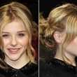 Chloe Mortez's Looped Side Ponytail