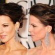 Kate Beckinsale's Textured French Twist