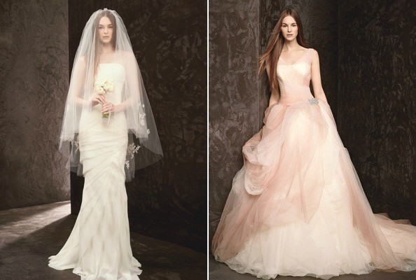 See David's Bridal's New White by Vera Wang Collection