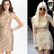 Taylor Momsen's Gold Dress on 'Gossip Girl'