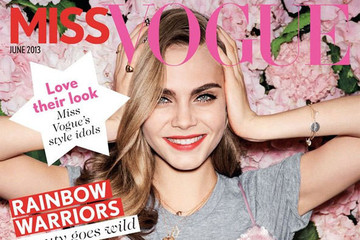 Presenting the First-Ever Issue of 'Miss Vogue'—Featuring Cara Delevingne—Want to See?