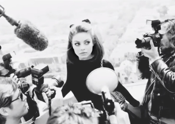 New Dior Campaign Trailer Staring Mila Kunis photo 1
