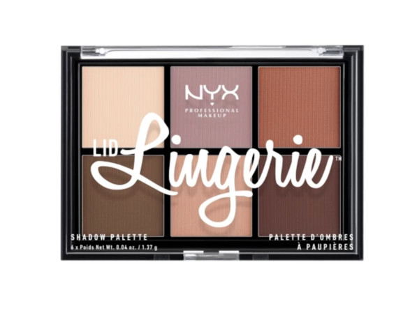 NYX Professional Makeup Lid Lingerie Eyeshadow Palette ($9.99)