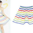 Alice + Olivia's Candy Striped Skirt