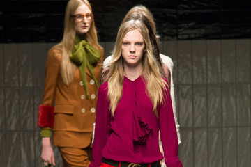 See Alessandro Michele's Debut for Gucci Fall 2015
