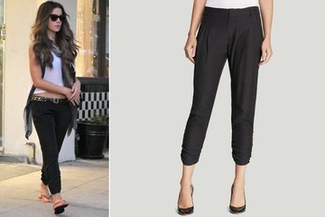 Found: Kate Beckinsale's Silk Pants