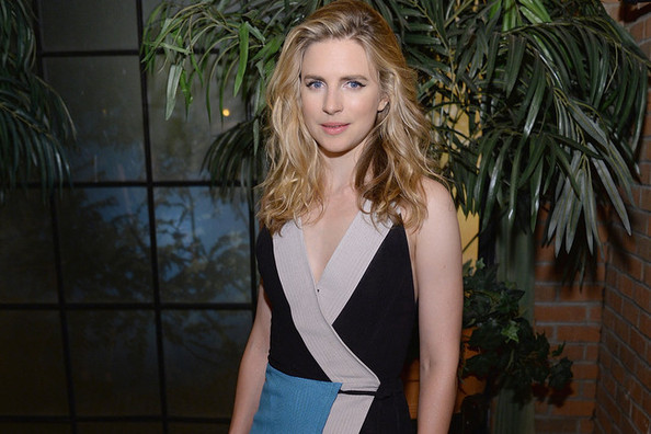 Brit Marling's Colorblocked Dress