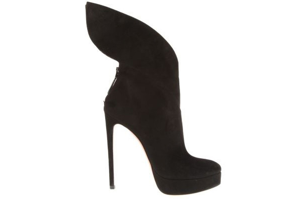 Azzedine Alaia's Winged Boots