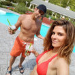 Poolside with Maria Menounos
