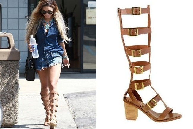 Found: Vanessa Hudgens' Sexy Sandals