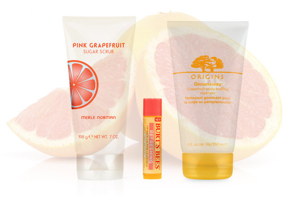Ten Juicy Grapefruit Beauty Products