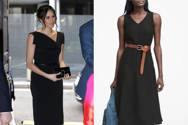 The Look: Sleeveless Black Dress ($97)