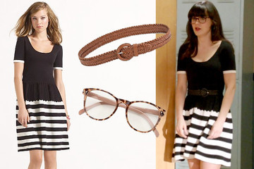 Steal Her Style: Zooey Deschanel's Striped Dress on 'New Girl'