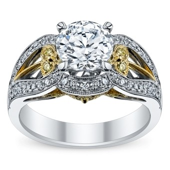 The White and Yellow Gold Ring