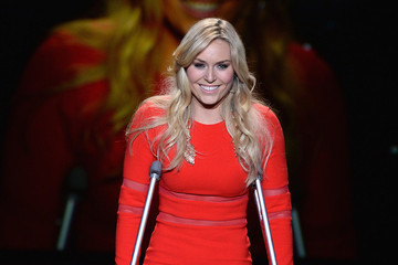 Lindsey Vonn Makes A Stylish Statement