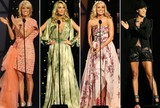 Carrie Underwood's Multiple Wardrobe Changes at the CMA Awards