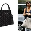 Frankie Sandford Shows Her Leather Skull Tote