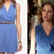 Margarita Levieva's Blue Dress on 'Revenge'