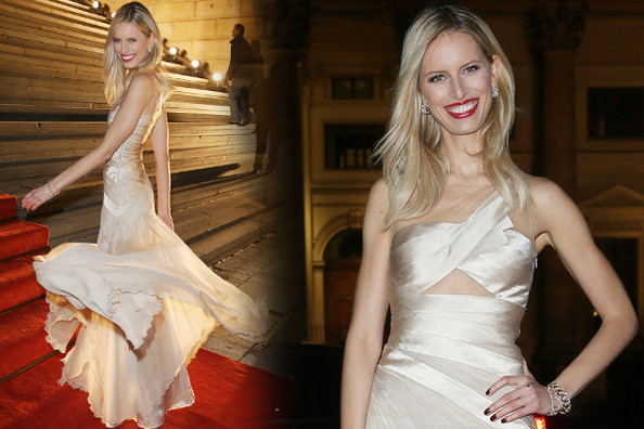 Look of the Day: Karolina Kurkova's Wedding-Worthy Gown