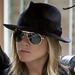 Jennifer Aniston's Classic Black Fedora