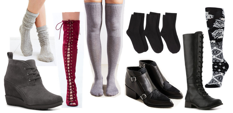 Easy Outfit Upgrade: Let Socks Peek Out from Your Boots