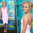 Hayden Panettiere in Zac Posen